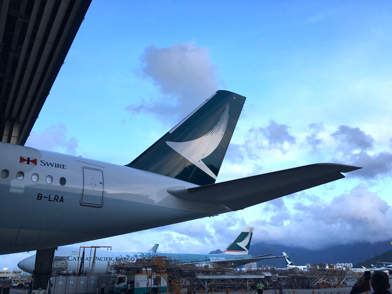A350 Cathay Pacific