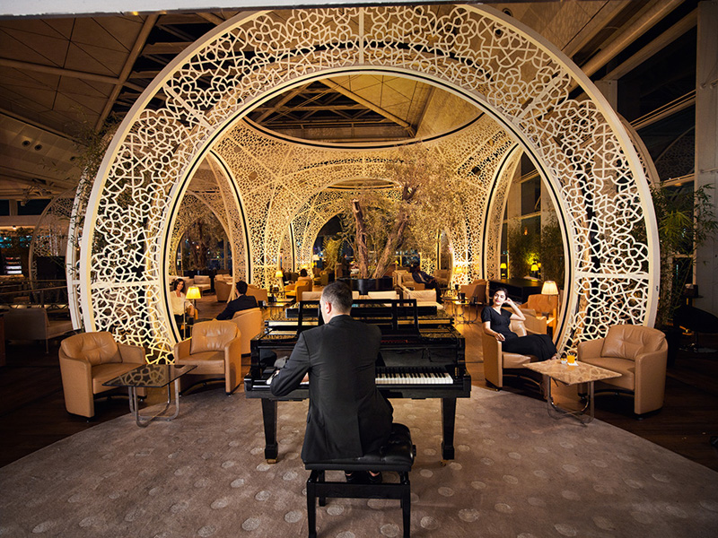 CIP Lounge Turkish Airlines Istanbul