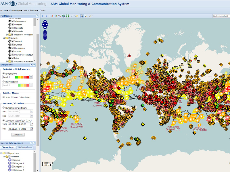 A3M Global Monitoring