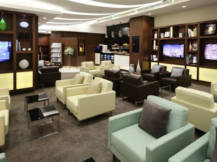Etihad Business Class Lounges