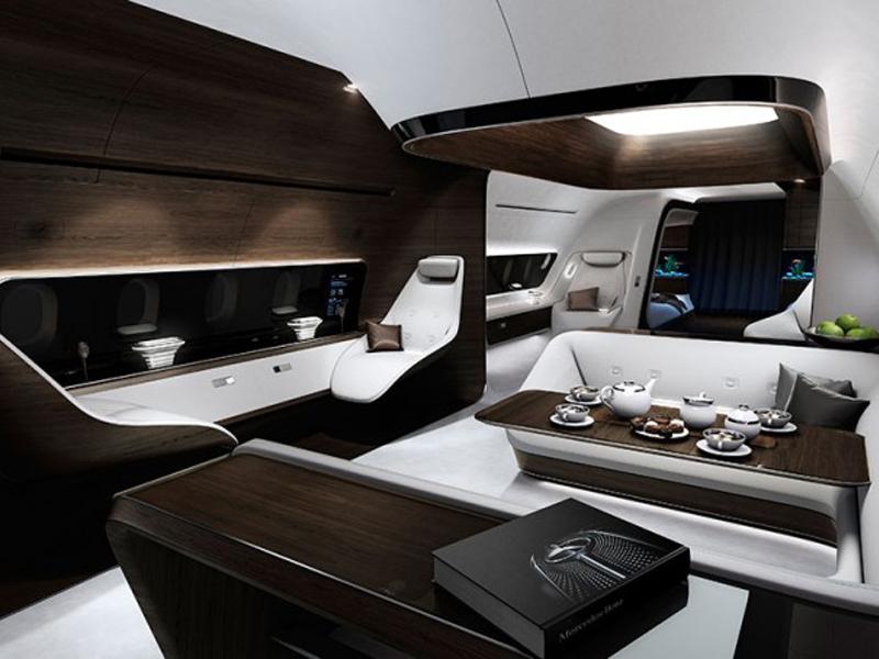 Mercedes-Benz Style VIP-Kabine