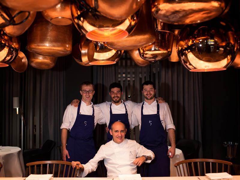 Cinco Paco Pérez Restaurant das stue Berlin