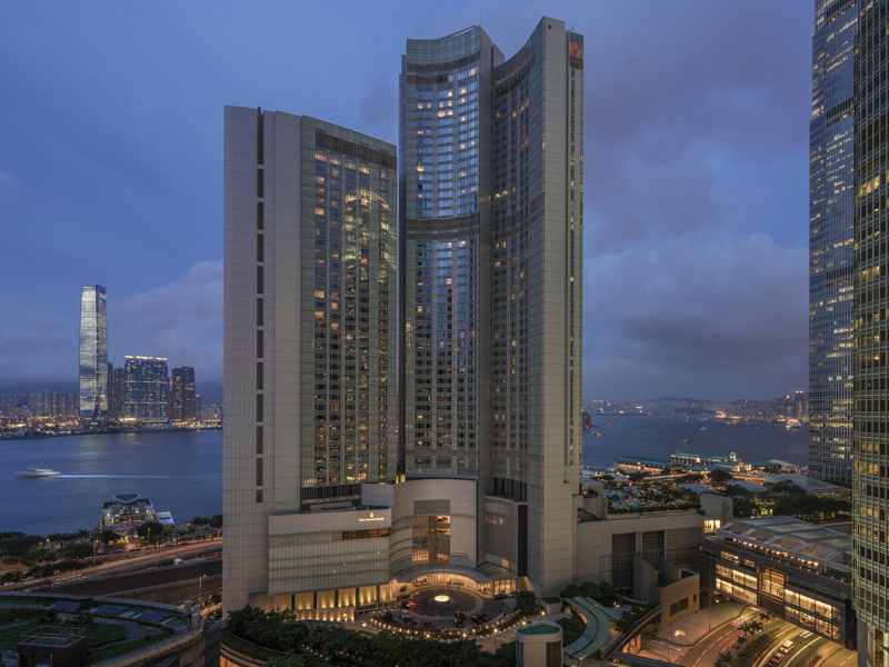 Four Seasons Hongkong Business Club Lounge