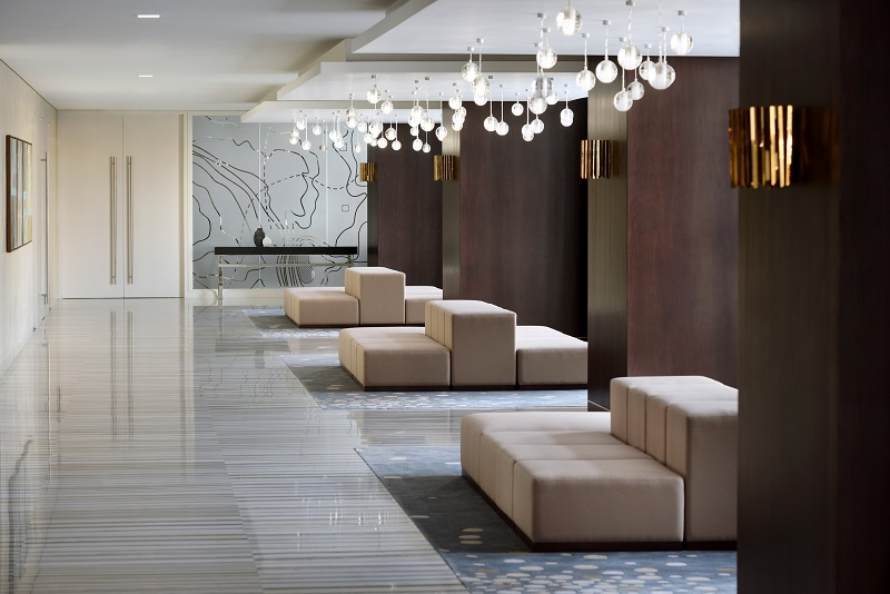 Das Marriott Downtown bietet 21 Konferenzräume