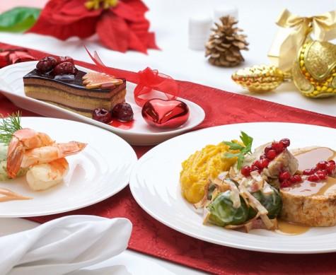 Emirates Weihnachtsmenüs^Emirates Weihnachtsmenüs