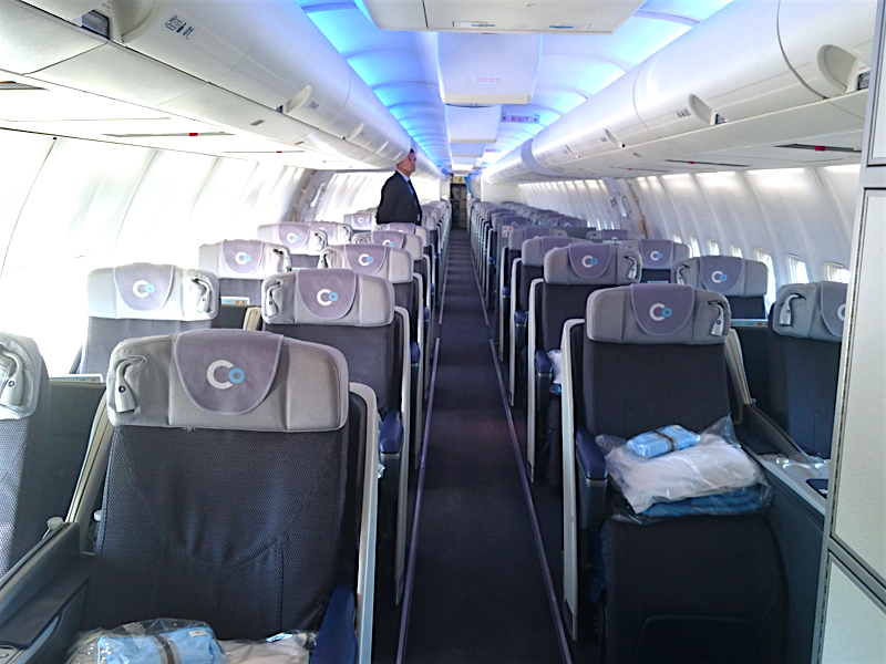 La compagnie business class review the frequent traveller for Interieur boeing 757