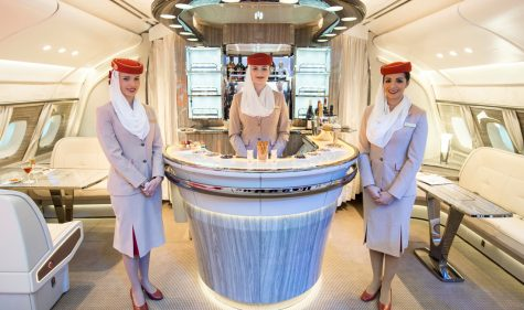 Emirates On Board Lounge A380