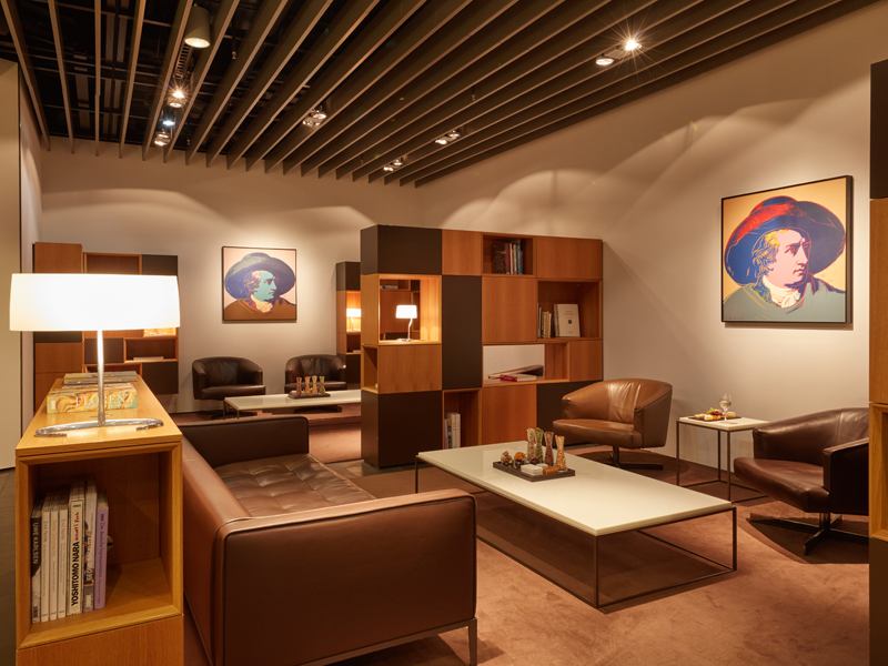 Lufthansa First Class Lounges