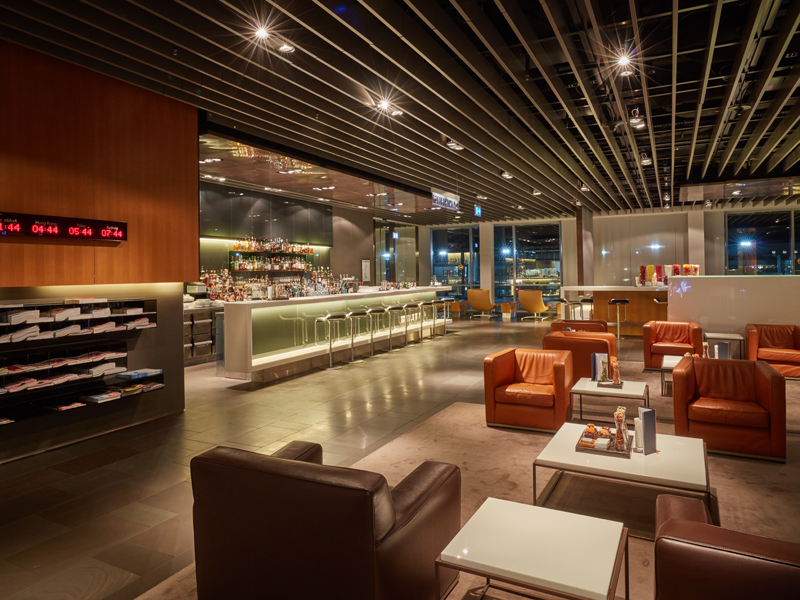 Lufthansa First Class Lounges in Frankfurt
