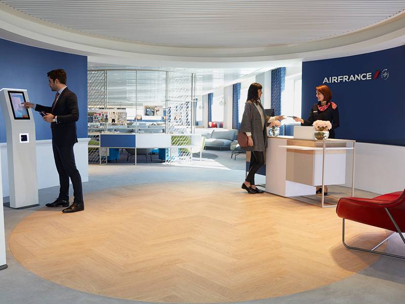 Neue Air France Business Lounge in Paris Charles de Gaulle