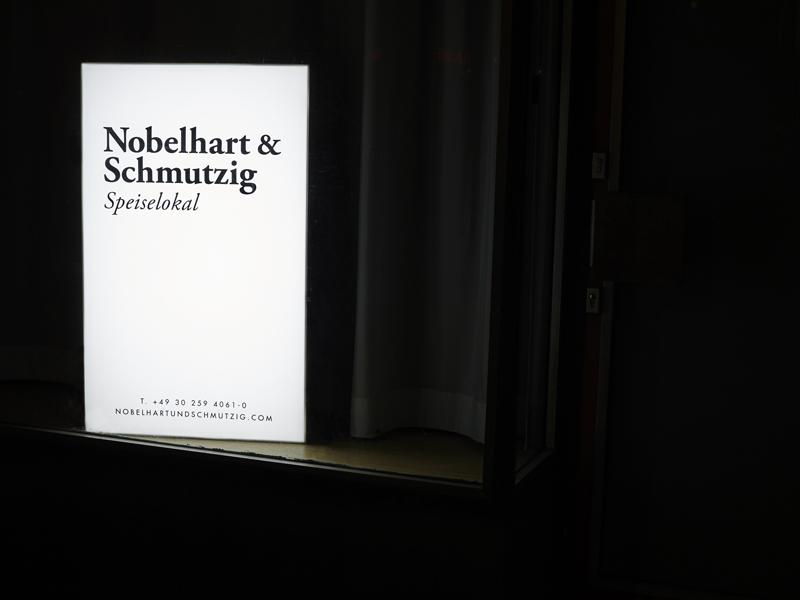 Nobelhart & Schmutzig Berlin