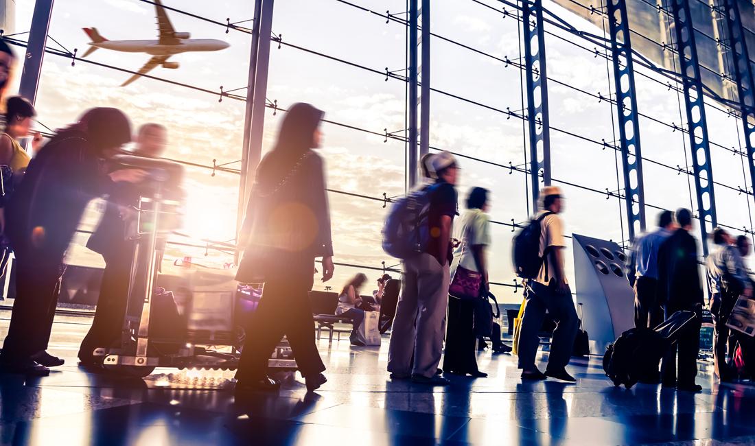 Flughafen-Knigge