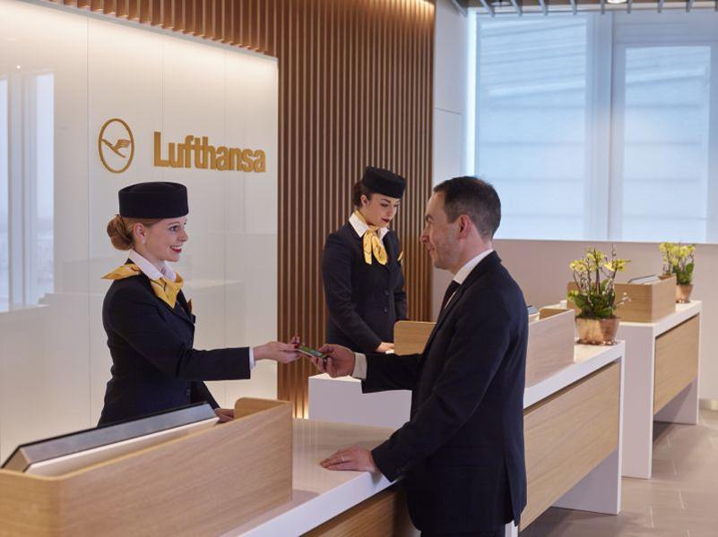 Lufthansa First Class Lounge im Satellitenterminal
