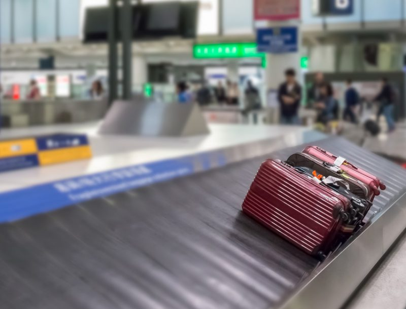 Nachverfolgung des Gepäcks