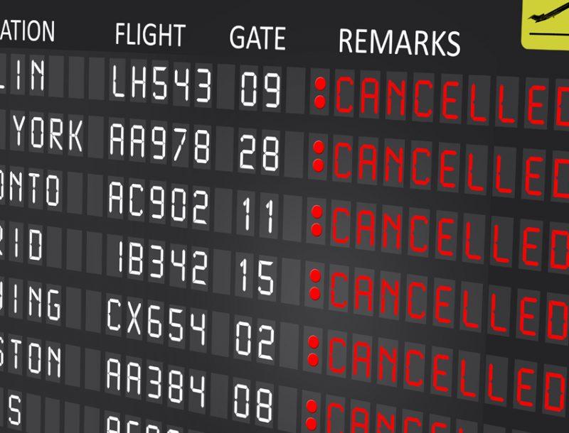 Was tun, wenn die Airline streikt