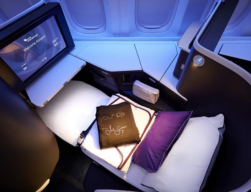 Virgin Australia Business Class Boeing 777