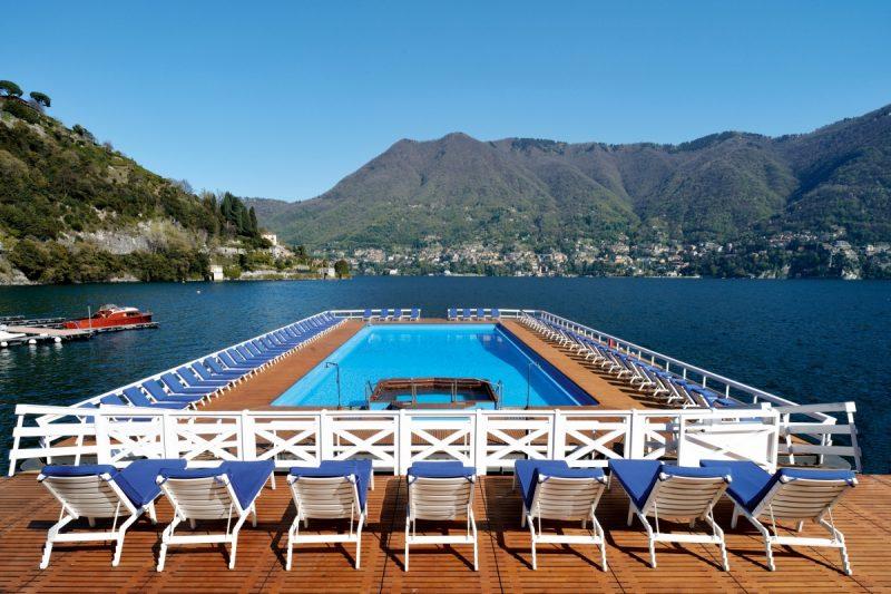 Villa d'Este: Floating Pool