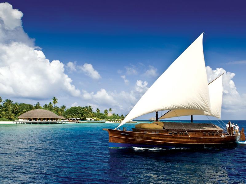 Huvafen Fushi auf den Malediven