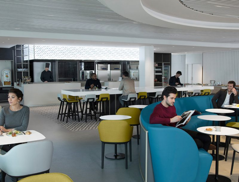 Neue Air France Business Lounge Paris