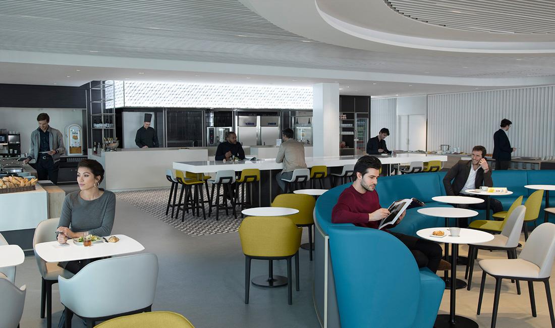 Neue Air France Business Lounge Paris