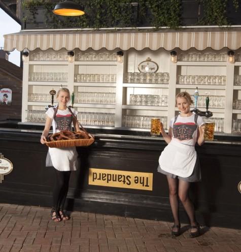 Biergarten Weltweit
