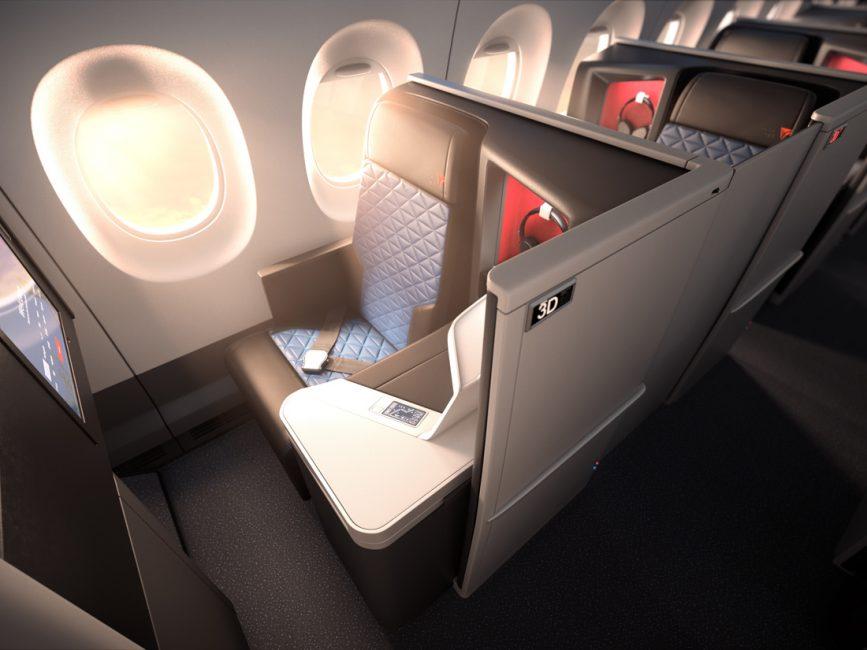Delta Air lines businessclass Suite
