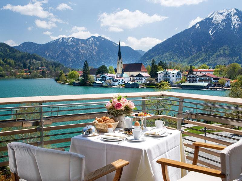 Die besten Wellness-Hotels in Bayern Hotel Überfahrt
