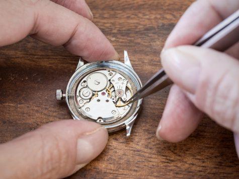 Edelsteine in Uhren