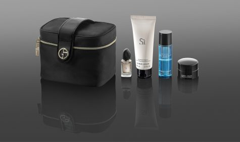 Qatar Airways Giorgio Armani Amenity Kit