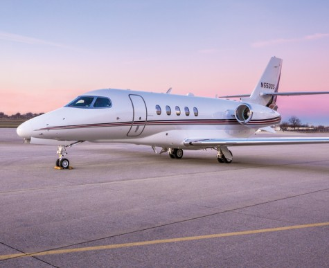 NetJets Citation Latitude