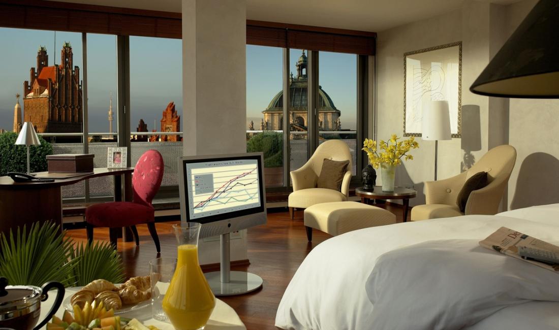 anna Hotel München Panoramazimmer