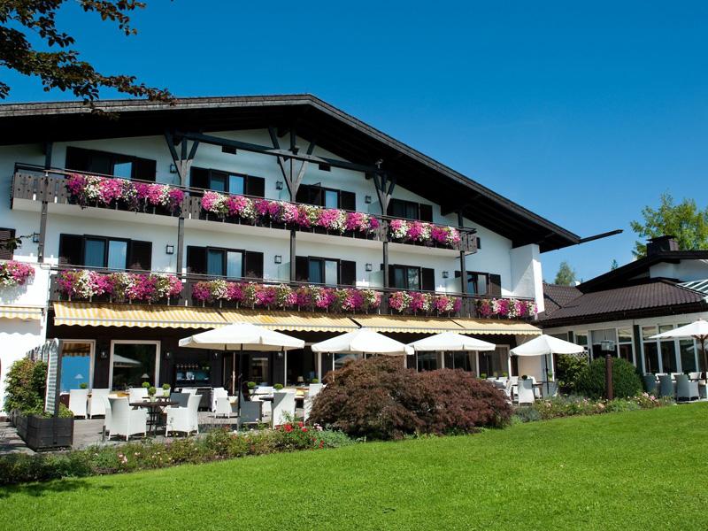 Die besten Wellness-Hotels in Bayern Alpenhof Murnau