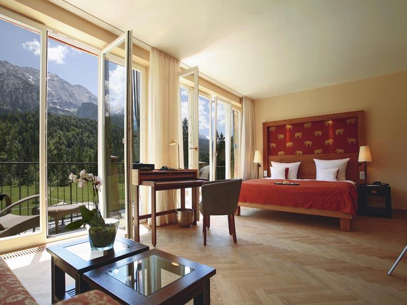 Die besten Wellness-Hotels in Bayern Schloss Elmau