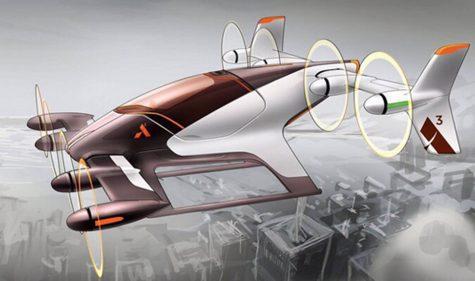 Flug-Taxi von Airbus