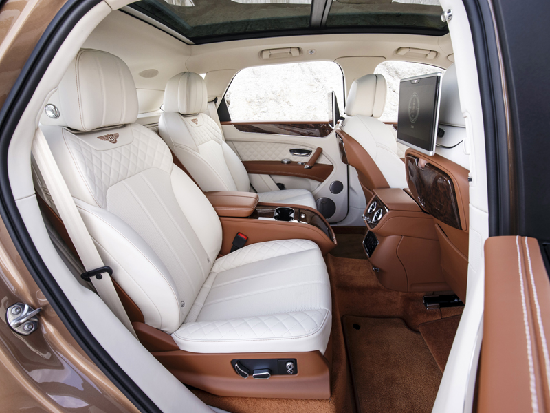 Bentley Bentayga Fonds