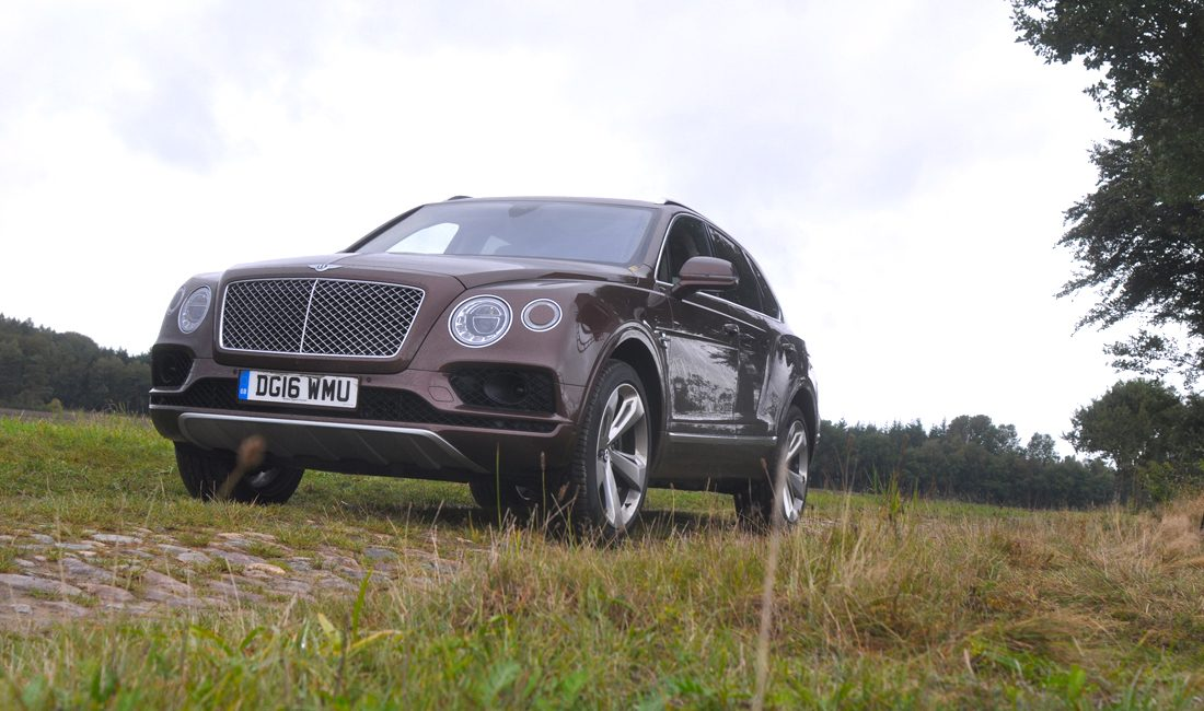 Bentley Bentayga Fahrbericht Fahrtest