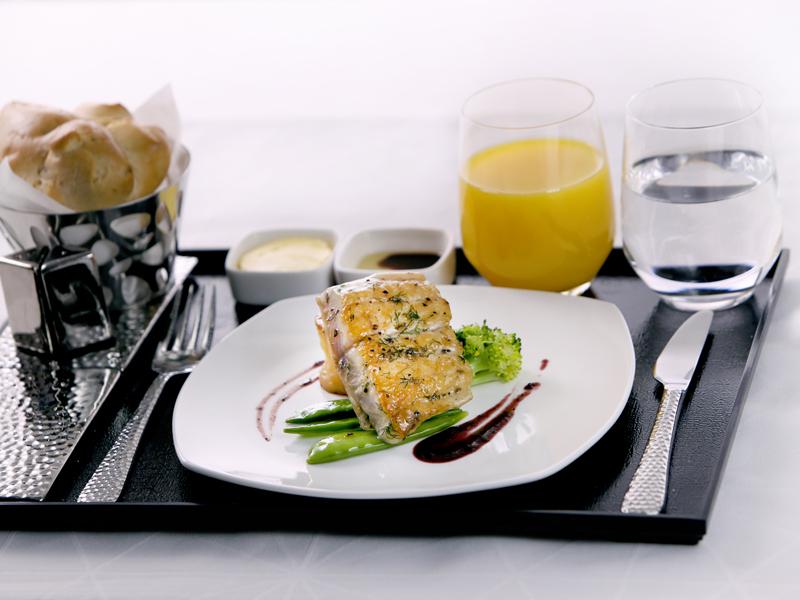 Business Class von Etihad Airways