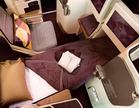 Business Class von Etihad Airways
