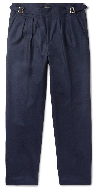 Hose mit Bundfalte von Rubinacci