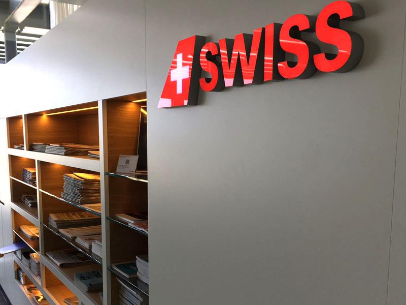 Siwss Buiness Lounge Zürich Test Check