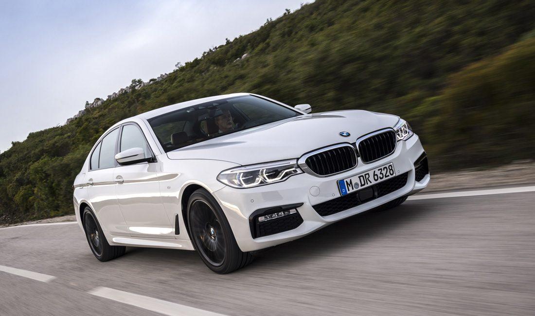BMW 540i Testfahrt Fahrbericht