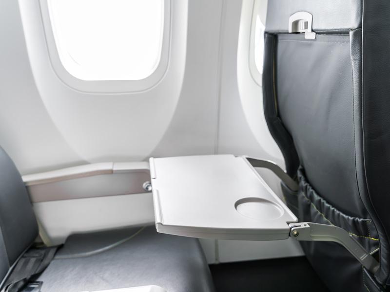 Bakterien im Flugzeug