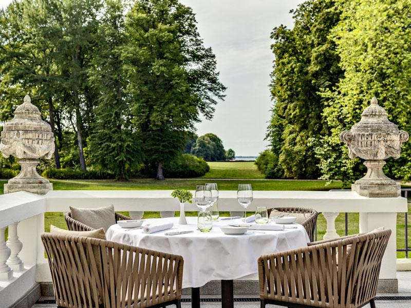 Courtier Weissenhaus Grand Village Restaurant Michelin Guide