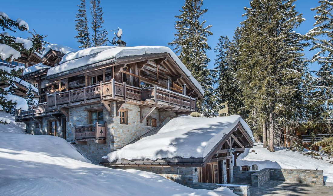die schoensten Winter-Chalets