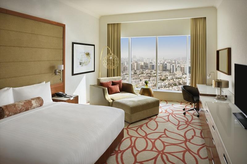 "Zimmerkategorie ""Superior King"" im Marriott Downtown Abu Dhabi"