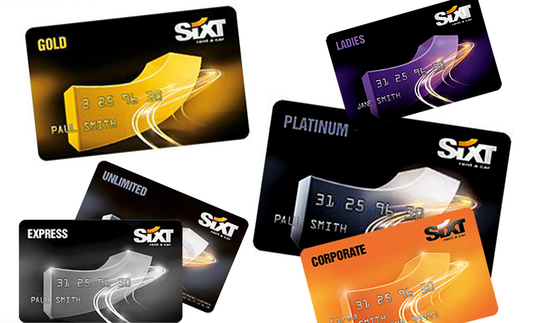 Sixt Cards