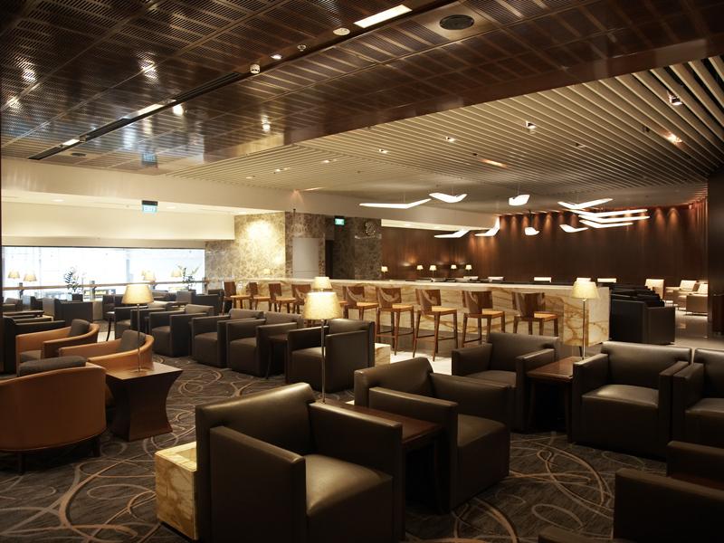 die besten business lounges der welt singapore Airlines