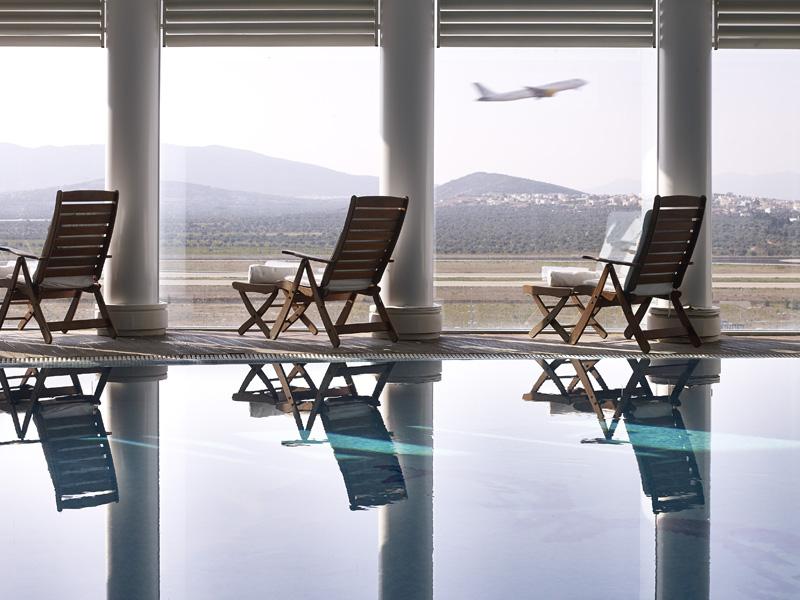 Airporthotel mit Wellnessbereich