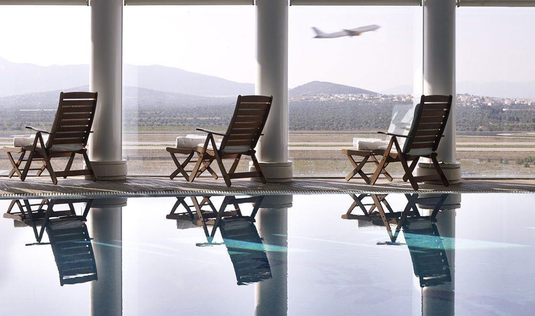 Airporthotel mit Wellnessbereicha