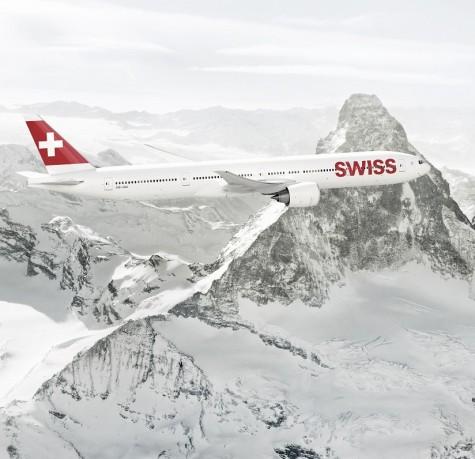 BOEING 777 von SWISS